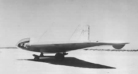 美国的第一架火箭动力飞机,诺斯罗普mx-324,在俄亥俄代顿莱特场陆军