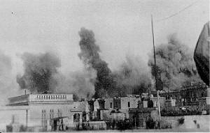Air raid on Malta